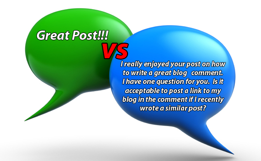 Always Add Value to Blog Comments