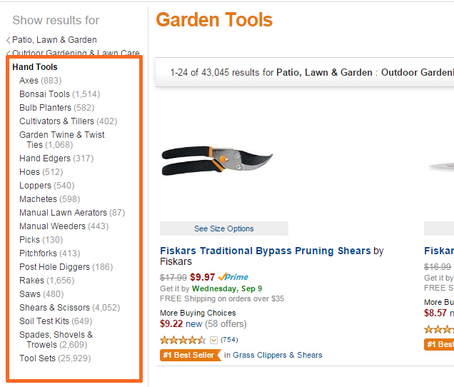 Amazon Garden Tool Seed Keywords