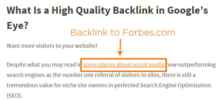 What Is A High Quality Backlink