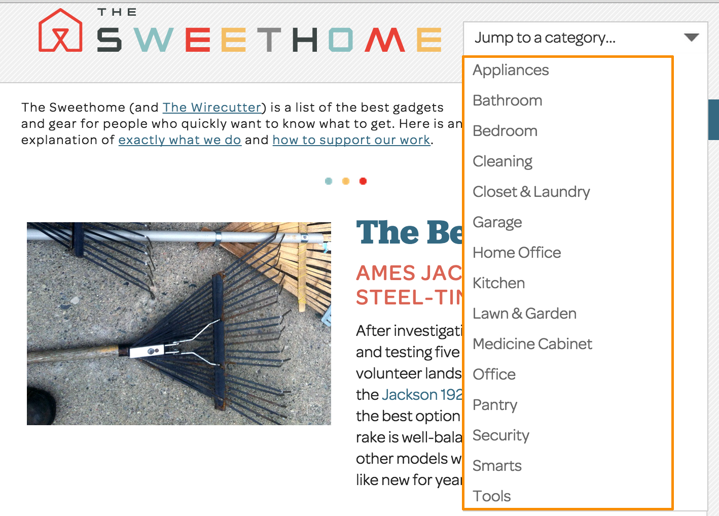 The Sweet Home Niche Site Keywords