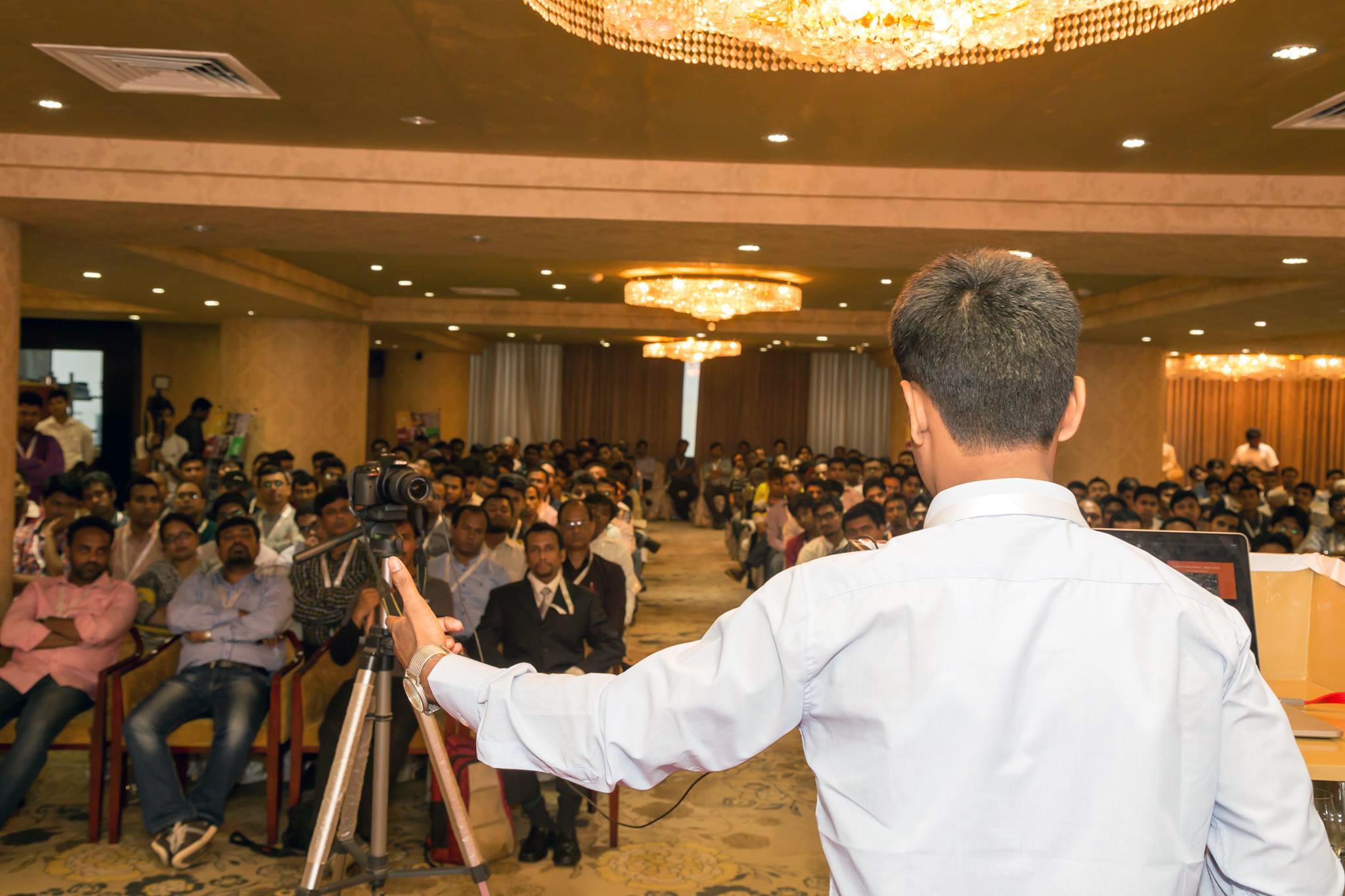 Al-Amin Kabir Speaking