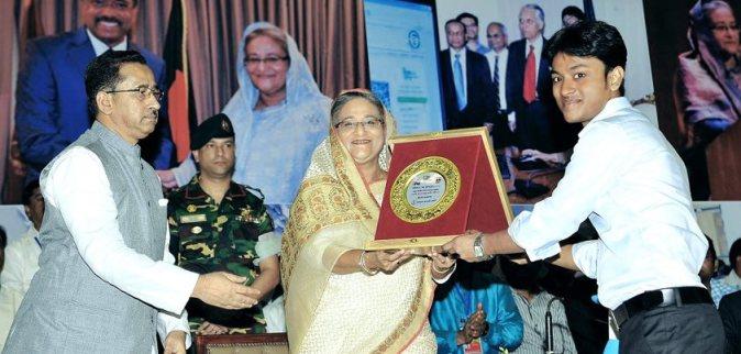 Al-Amin Kabir awarded by Prime Minister