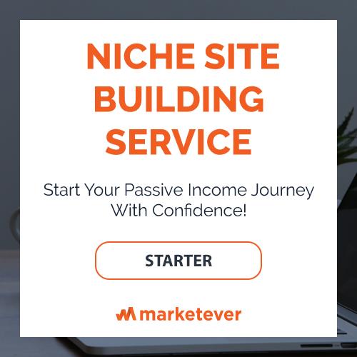 Niche Site Building Service - Starter